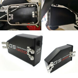 Motorcycle Left Rear Seat Tool Box Toolbox ABS Plastic For BMW R1200 R1250GS ADV