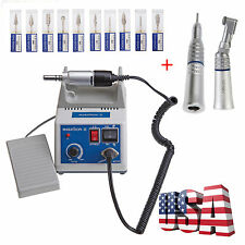 Dental Lab MARATHON Handpiece 35K Rpm Electric Micromotor polishing/Drill*10 N3