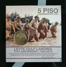5 Piso Commemorative Coin Leyte Gulf Landing 70th Anniversary 1944-2014