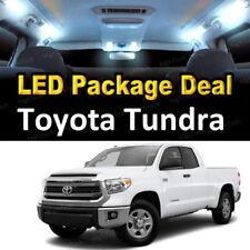 For 2007 - 2017 2018 Toyota Tundra LED Lights Interior Package Kit WHITE 12PCS