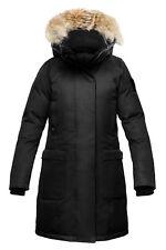Nobis MERIDETH Jacket Coat Women - S Small - Black Crosshatch New