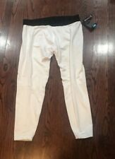 Nwt Men's Russell Performance Base Layer Tights Size Xl White