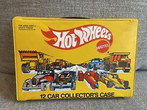 HOT WHEELS 1983 12 CAR COLLECTORS CASE