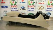 JAGUAR XF X250 CENTER CENTRE CONSOLE LEATHER ARMREST