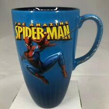 2006 Amazing Spider-Man Universal Studios Marvel Tall Ceramic 3D Coffee Mug Cup