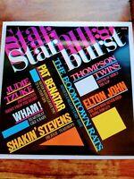 Starburst Various LP 1986 Vinyl Near Mint Wham Sisters Of Mercy Elton John Tzuke