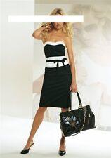 """""""APART"""" Corsagen Kleid mit Nano schwarz/creme Gr. 34 Neu 68% reduziert"""