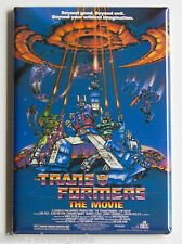 Transformers Animated FRIDGE MAGNET (2 x 3 inches) movie poster optimus prime