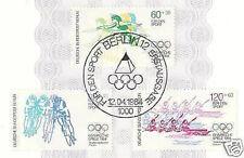 Berlin 1984: Olympia! Sportmarken Nr. 716-718 mit Ersttagssonderstempel! 1A 1602