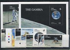 Gambia 987/94 Block 89/90 postfrisch / Weltraum ..........................1/2749