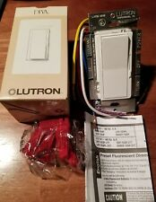 Lutron Dvf-103P-277-Wh Fluorescent Preset Dimmer Single-Pole/3-Way New In Box