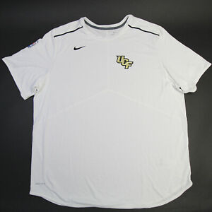UCF Knights Nike Dri-Fit Short Sleeve Shirt Men's White New with Tags