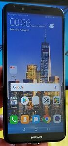 Huawei Y7 (2018) - 16GB - (Unl0cked) 4G Smartphone Excellent Condition  Sim Free