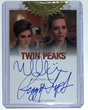Rittenhouse Twin Peaks Archives Madchen Amick Peggy Lipton Auto Autograph INCENT