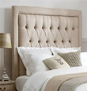 """Special Bedworth Linen Fabric Headboard Buttons in All Sizes with 26"""" Height"""