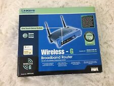 Linksys WRT54G V 6 54 Mbps 4-Port 10/100 Wireless G Router