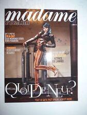 Magazine revue MADAME FIGARO 24 aout 2012 cover Lea Seydoux