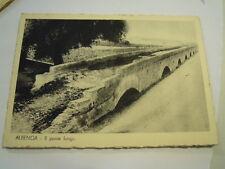 CARTOLINA ALBENGA - IL PONTE ROMANO - 1940ca C7-57