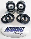 93-00 Honda TRX300 Fourtrax 300 2x4 BOTH Front Wheel Bearing & Seal Kits