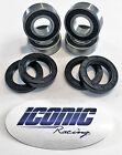 93-00 Honda TRX300 Fourtrax 300 2x4 BOTH Front Wheel Bearing & Seal Kits