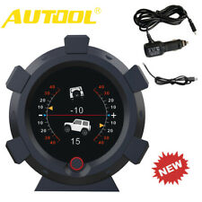 5V X95 Universal GPS Slope Meter MPH/KMH Speed Inclinometer HUD Speedometer