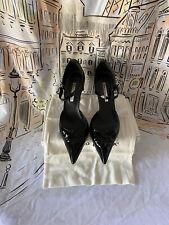 Manolo Blahnik Patent Leather Mary Jane Pumps