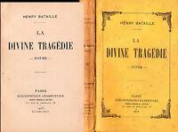 """1916 - HENRY BATAILLE """"LA DIVINE TRAGÉDIE"""""""
