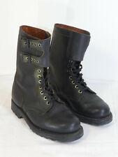 Militaire Paire de chaussures cuir noir ranger