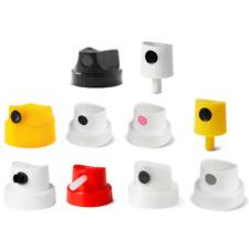 50x MIXED SPRAY PAINT CAPS - 50 CAPS FOR MONTANA, MTN, MOLOTOW, KOBRA, IRONLAK
