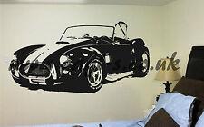 AC Cobra Vinilo Pared Arte enorme Mancave Dormitorio Coche Kit Car
