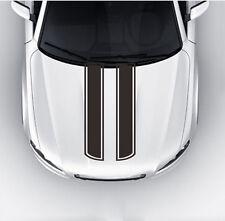 Car Truck Decal Vinyl stickers Hood Decals Racing stripe Black