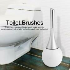 Creative Toilet Brush Holder Bathroom Scrub Cleaning with Stainless Steel Base