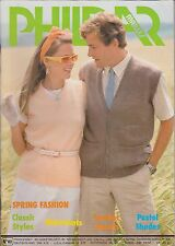 Vintage Knitting Patterns | Phildar Spring Fashion No. 80 | 1980s