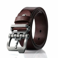 Casual Men's Genuine Leather Whole Cowhide Waistband Waist Strap Jeans Belts
