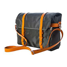 Walco City Chic Messenger Shoulder Laptop Tablet Stylish Cyclist Bike Bag Grey