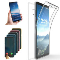 360° Full Body Shockproof Case Soft Clear Cover For Samsung Note 10 Plus/S10e/10