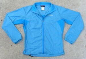 PATAGONIA Nine Trails Jacket ultralight nylon Women's Sz Small Curacao