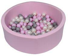 Piscina infantil para niños de bolas pelotas 150 piezas rosa