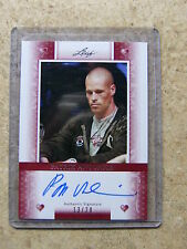 2011 Leaf Razor Poker PATRICK ANTONIUS Heart Red version /20