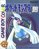 GameBoy Color Pocket Monsters Gin / Pokemon Silberne mit neuer Battery JAP Modul