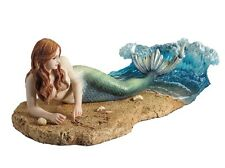 "10.5"" Waiting By Selina Fenech Mermaid Statue Sculpture Decor Ocean Water Figure"