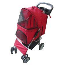 Équipements de transport rouge en tissu pour chien