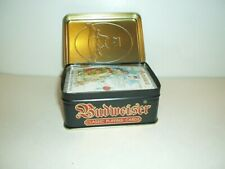 Anheuser-Busch Budweiser Classic Playing Cards in Carlisle English Tin