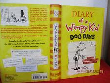 Jeff Kinney DIARY OF A WIMPY KID #4 DOG DAYS hardcover