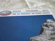 Alpenbahnen Westalpen K 30 Jungfraubahnen  Wengeralp zur kleinen Scheidegg