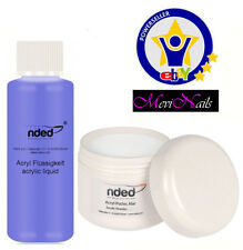 Liquid acrylic + Powder Acrylic Clear Transparent High Quality NDED / Nails