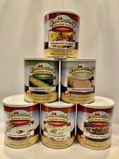💥6 Cans💥 Saratoga Farms Freeze Dried Food - Variety Pack - #10 Cans