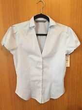 Career Button Down Shirt Machine Washable ZARA Tops & Blouses for Women