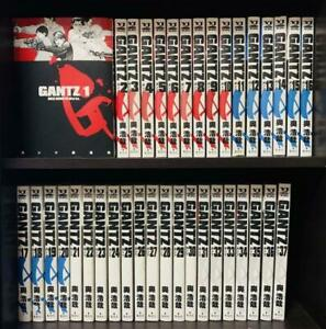 GANTZ Vol.1-37 complete Set Comic Manga