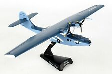 POSTAGE STAMP (PS5556-4) US NAVY PBY CATALINA 1:150 SCALE DIECAST METAL MODEL